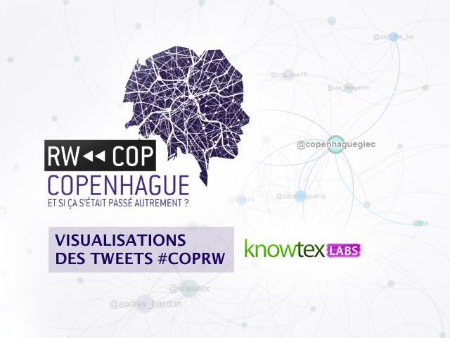 Voir les visualisations des tweets mentionnant #CopRW sur Knowtex Labs