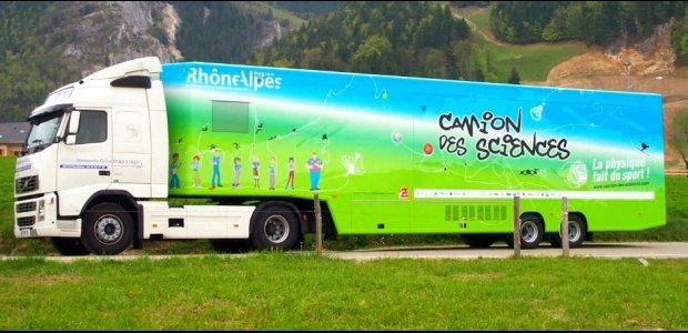 Il roule il roule le camion des sciences knowtex blog for Piscine mobile sur camion