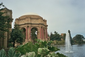 Le jadin de l'Exploratorium